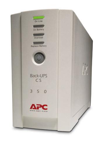 APC Back UPS CS 350VA BK350EI