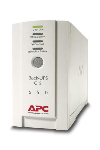 APC Back UPS CS 650VA BK650EI