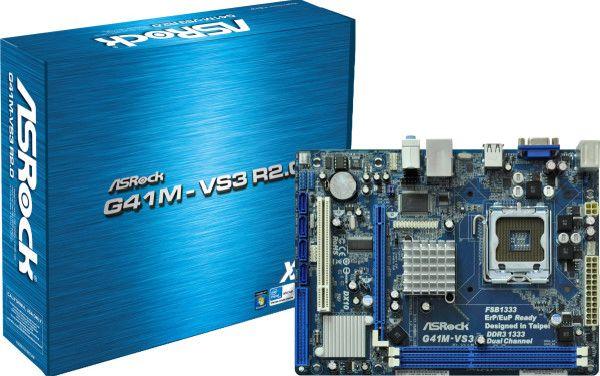 ASRock s775 G41M-VS3 R2.0