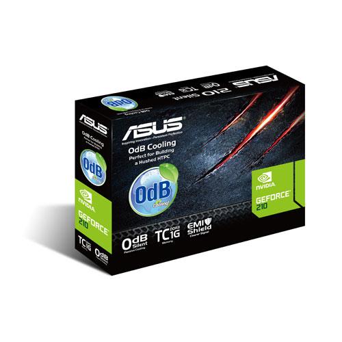 Asus PCIe NVIDIA 210 1GB DDR3 - 210-SL-TC1GD3-L