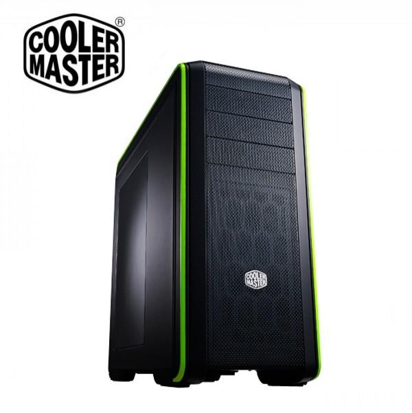 Cooler Master Midi - CM690 III - nVIDIA Edition - CMS-693-GWN1