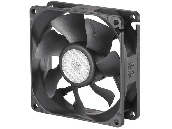 Cooler Master - Case Fan - 8cm - BLADE MASTER 8025 PWM FAN - R4-BM8S-30PK-R0
