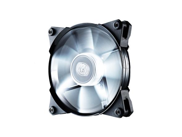 Cooler Master - Case Fan - JETFLO 12cm - LED White - R4-JFDP-20PW-R1