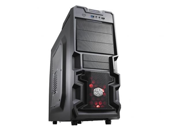 Cooler Master Midi - K380 - Black - RC-K380-KWN1