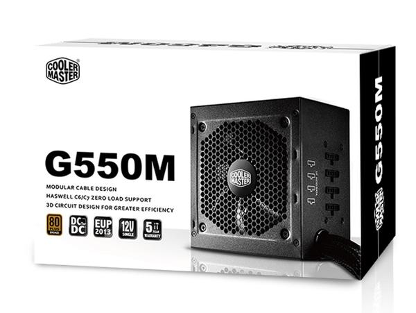 Cooler Master 550W - G550M - RS550-AMAAB1-EU