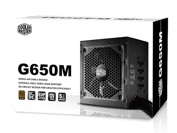 Cooler Master 650W - G650M - RS650-AMAAB1-EU