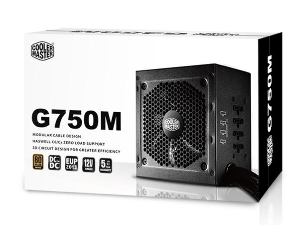 Cooler Master 750W - G750M - RS750-AMAAB1-EU