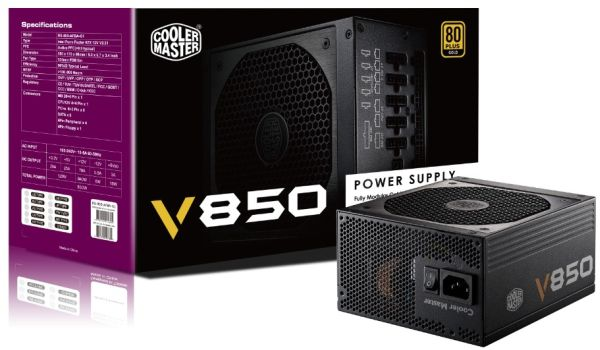 Cooler Master 850W - V850 - RS850-AFBAG1-EU