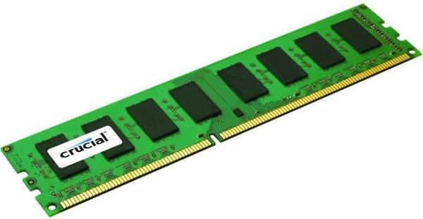 Crucial DDR3 1600MHz / 4GB - CL11 - Single rank - CT51264BA160BJ