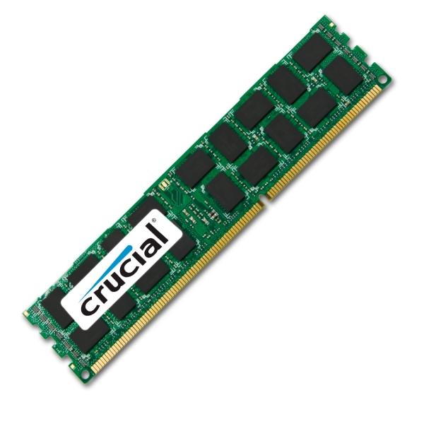 Crucial DDR3 1866MHz / 16GB ECC REGISTERED - CT16G3ERSDD4186D.36FED