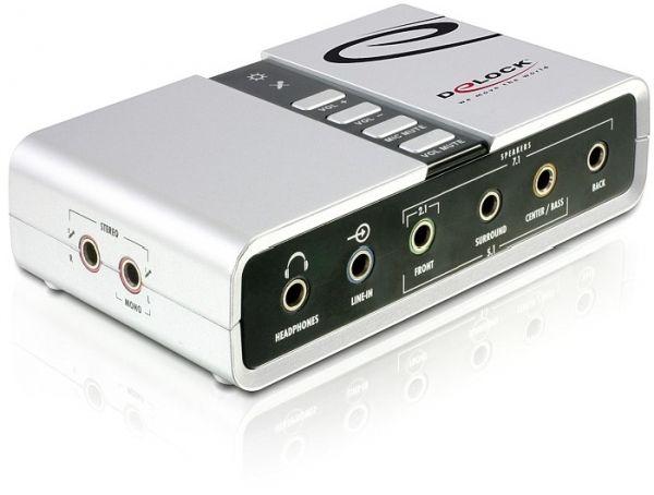 Delock 61803 USB Sound Box 7.1