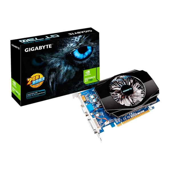 Gigabyte PCIe NVIDIA GT 730 2GB DDR3 - GV-N730-2GI