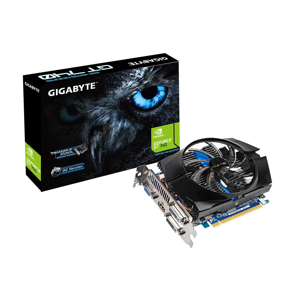 Gigabyte PCIe NVIDIA GT 740 2GB GDDR5 - GV-N740D5OC-2GI