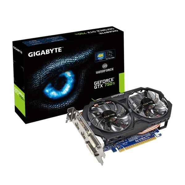 Gigabyte PCIe NVIDIA GTX 750 Ti 2GB GDDR5 - GV-N75TOC-2GI