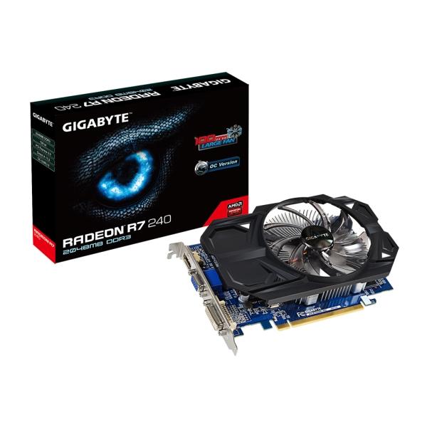 Gigabyte PCIe AMD R7 240 2GB DDR3 - GV-R724OC-2GI