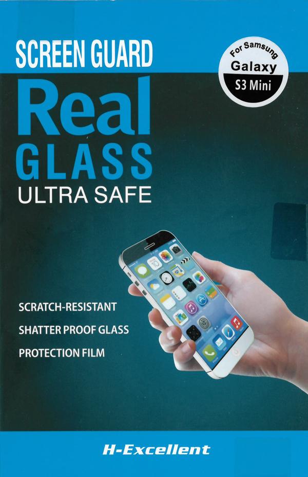 H-Excellent Samsung Galaxy S3 Mini Edzett üveg kijelzővédő - 0,33mm