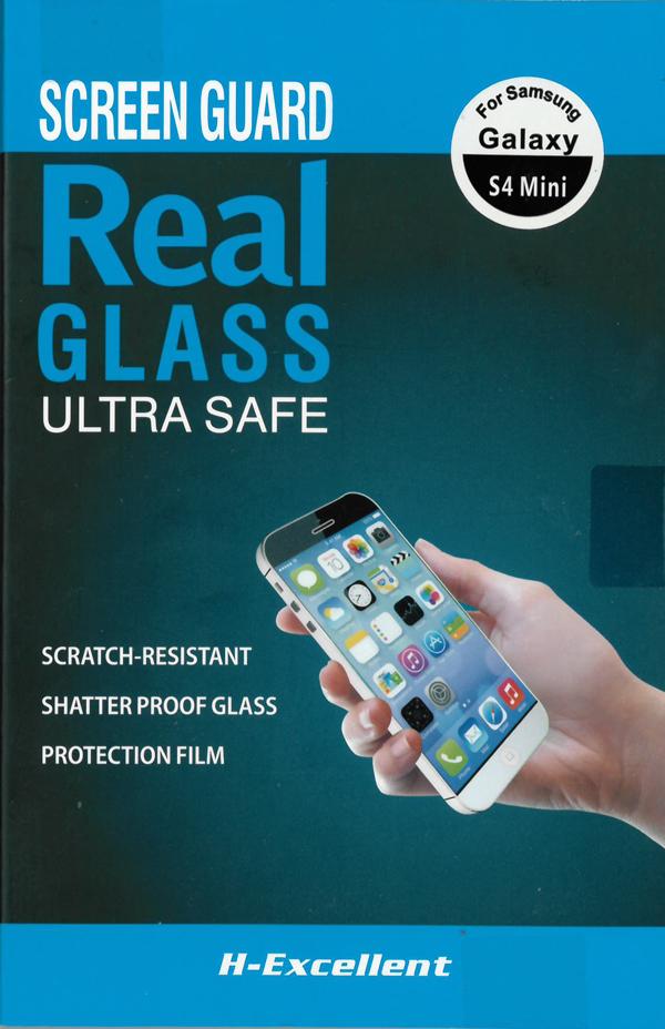 H-Excellent Samsung Galaxy S4 Mini Edzett üveg kijelzővédő - 0,33mm