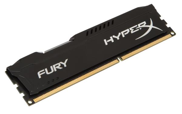 Kingston HyperX Fury Black - DDR3 1866MHz / 4GB - CL10
