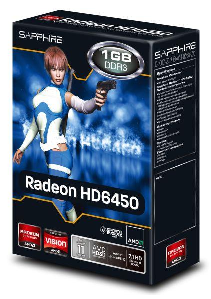Sapphire PCIe AMD HD 6450 1GB DDR3