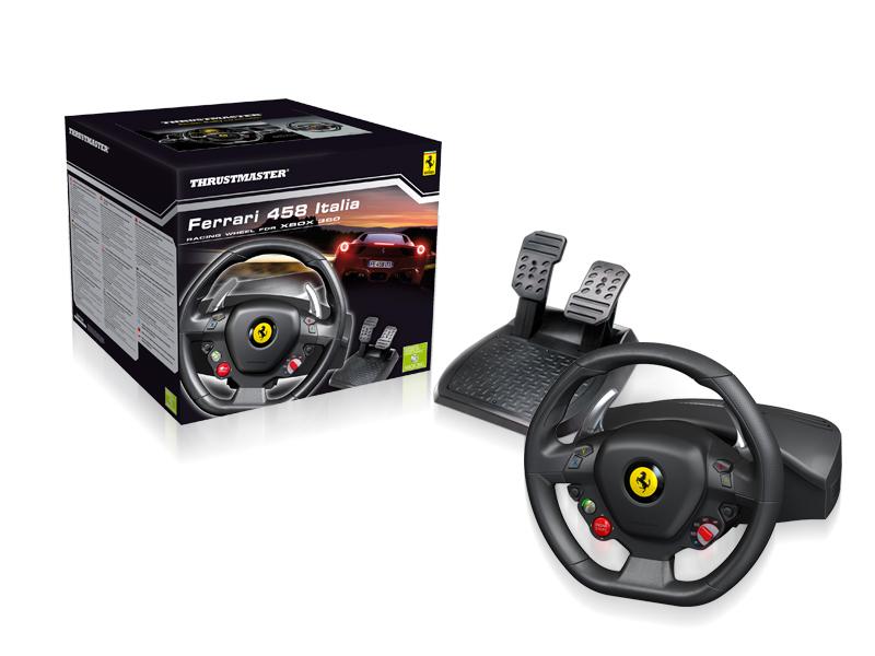 Thrustmaster Ferrari 458 Italia kormány Xbox 360-hoz